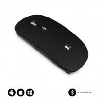 SUBBLIM RATON OPTICO WIRELESS BLUETOOTH BT MOUSE FLAT BLACK
