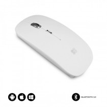 SUBBLIM RATON OPTICO WIRELESS BLUETOOTH BT MOUSE FLAT WHITE