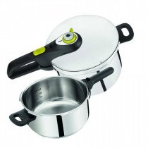 Tefal P2544337 vaporizador 1 cesta(s) Negro, Acero inoxidable Freestanding (placement)