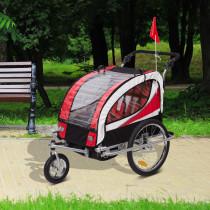 Remolque Bicicleta para Niños con Barra