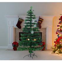 Arbol de Navidad HOMCOM con fibra optica