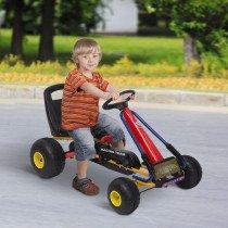 Go Kart HOMCOM Coche para Niños 3-8 Años