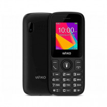 "Wiko F100 4,57 cm (1.8"") 71 g Negro Teléfono básico"