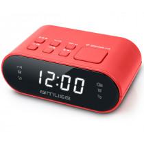 Muse M-10 RED Reloj despertador digital Rojo