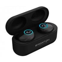 Brigmton BML-16-N auricular y casco Auriculares Dentro de oído Bluetooth Negro