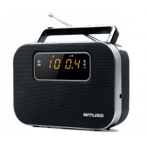 Muse M-081 R radio Portátil Digital Negro