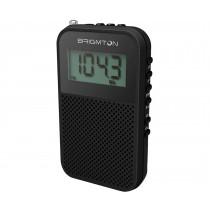 Brigmton BT 345 radio Portátil Digital Negro