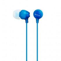 Sony MDR-EX15AP Auriculares Dentro de oído Azul