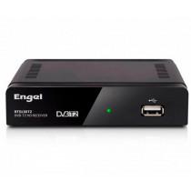 Engel Axil RT5130T2 descodificador para televisor Cable Full HD Negro