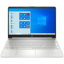 "HP 15s-eq1090ns DDR4-SDRAM Portátil 39,6 cm (15.6"") 1366 x 768 Pixeles AMD Ryzen 5 8 GB 256 GB SSD Wi-Fi 5 (802.11ac) Windows 10 Home Plata"
