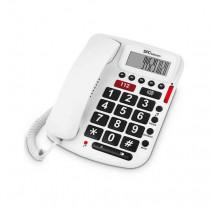 SPC Comfort Volume Teléfono Blanco 3293B