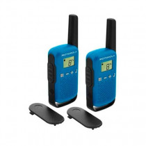 Motorola TALKABOUT T42 two-way radios 16 canales Negro, Azul