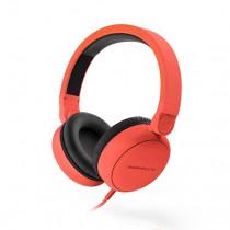 Energy Sistem Style 1 Talk Auriculares Diadema Negro, Rojo