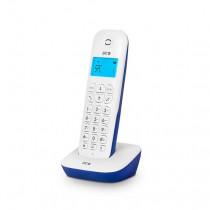 SPC ART Teléfono DECT Blanco Identificador de llamadas