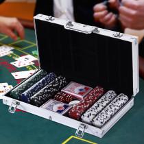 Juego de Poker Homcom  con 300 Fichas Ju