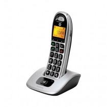 Motorola CD301 Teléfono DECT Plata Identificador de llamadas