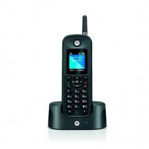 Motorola O201 Teléfono DECT Negro Identificador de llamadas