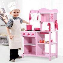 Cocina de Juguete Homcom Infantil con ac