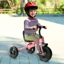 Triciclo Homcom + 18 meses rosa
