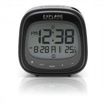 Explore Scientific RDP3007 despertador Reloj despertador digital Negro, Gris