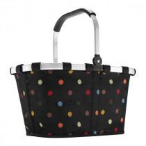 Reisenthel BK7009 bolsa de compras Cesta de la compra Negro, Multicolor