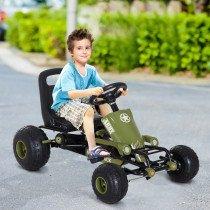 Go Kart HOMCOM Coche de Pedales Racing D