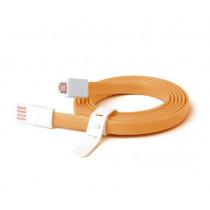 Ziron ZR209 cable USB 1,5 m USB 2.0 USB A Micro-USB A Naranja