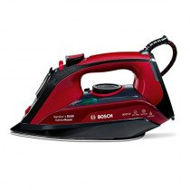 Bosch TDA503001P plancha Plancha a vapor Negro, Rojo 3000 W