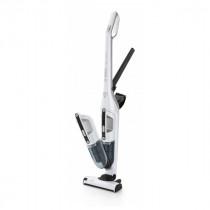 Bosch Serie 4 BBH32551 aspiradora de pie y escoba eléctrica Sin bolsa Metálico, Blanco 0,4 L