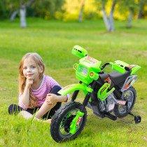 Moto Electrica HOMCOM Infantil verde