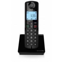 Alcatel S250 Teléfono DECT Negro Identificador de llamadas