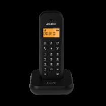 Alcatel E155 Teléfono DECT/analógico Negro Identificador de llamadas