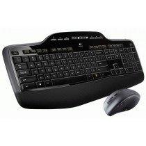Logitech MK710 teclado RF inalámbrico QWERTY Español Negro