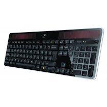 Logitech K750 teclado RF inalámbrico QWERTY Español Negro