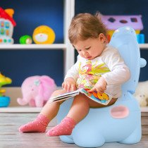 Orinal Infantil HOMCOM en Forma de Hipop