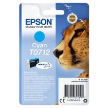 Epson Cheetah T0712 Original Cian
