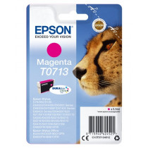 Epson Cheetah T0713 magenta ink cartridge Original