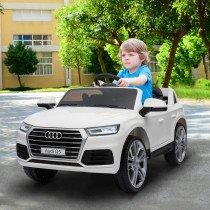 Coche Electrico HOMCOM Audi Q5 Blanco pa