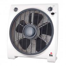 FM Calefacción BF-4 ventilador Negro, Blanco