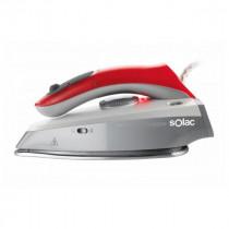 Solac PV1651 Plancha vapor-seco Suela de acero inoxidable 1000W Rojo, Acero inoxidable plancha