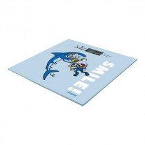 JATA Mod. 295K Báscula personal electrónica Rectángulo Azul