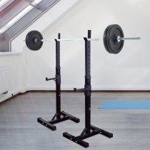 Homcom B1-0056 weight rack Negro Metal 150 kg