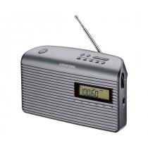 Grundig Music 61 radio Portátil Digital Negro, Grafito