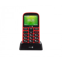 "Doro 1361 6,1 cm (2.4"") 96 g Negro, Rojo"