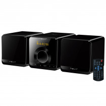 Nevir NVR-698 MCDU reproductor de CD Grabadora de CD Negro