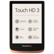 Pocketbook Touch HD 3 lectore de e-book Pantalla táctil 16 GB Wifi Cobre