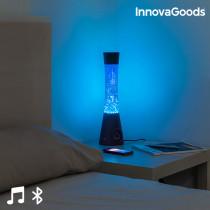 LAMPARA de Lava con Altavoz Bluetooth y