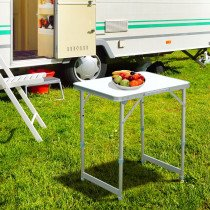 Mesa de Camping Outsunny Plegable y Ajus