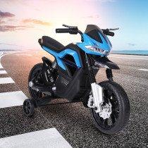 Moto Electrica HOMCOM Infantil negro-azu