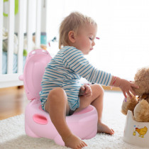 Inodoro Infantil HOMCOM con Forma de Hip